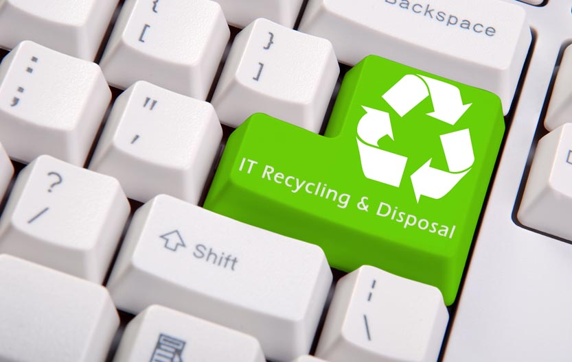 It-Recycling-Disposal-Banner